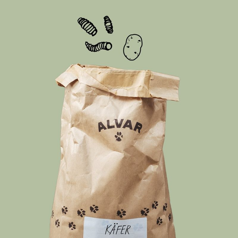 Alvars Null-Emission Futter Käfer